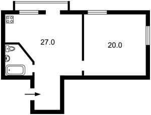 Квартира Лисичанская, 29, Киев, F-36982 - Фото 2