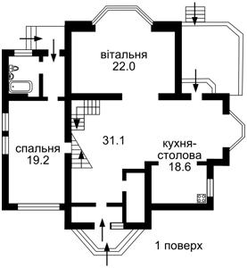 Дом Ломоносова, Ирпень, C-101953 - Фото 3
