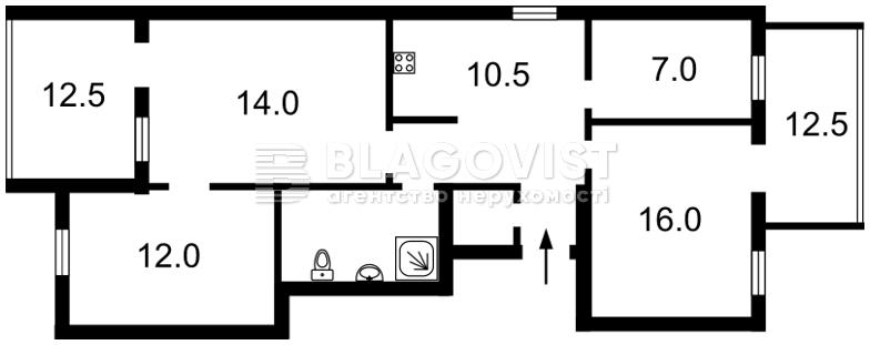 Квартира R-16769, Шевченко Тараса бульв., 48б, Киев - Фото 3