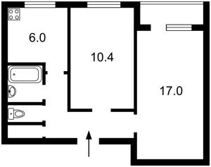 Квартира Оболонський просп., 16е, Київ, R-18347 - Фото2