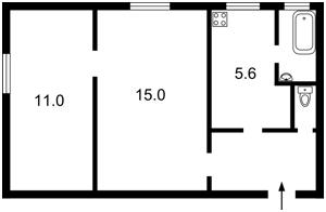 Квартира Белгородская, 12, Киев, H-42085 - Фото2