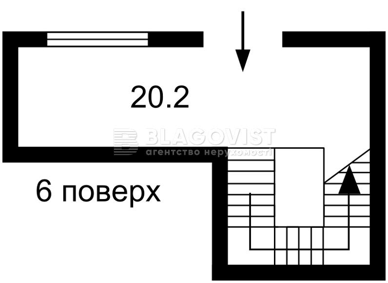 Нежилое помещение, A-109004, Леси Украинки бульв., Киев - Фото 7