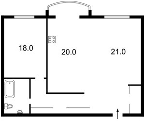 Квартира Героев Сталинграда просп., 8 корпус 3, Киев, Z-287280 - Фото2