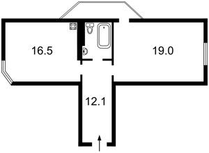 Квартира Вильямса Академика, 3/7, Киев, X-7396 - Фото2