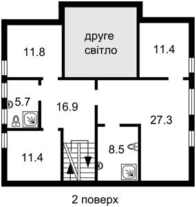 Дом Садовая, Бобрица (Киево-Святошинский), Z-217499 - Фото 2