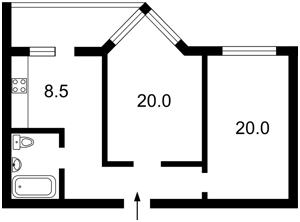 Квартира Нижній Вал, 41, Київ, F-37461 - Фото2