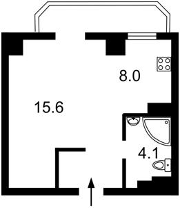 Квартира Гарматная, 37а, Киев, Z-97537 - Фото2