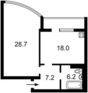 Квартира Кольцова бульв., 14ж, Киев, R-18521 - Фото2