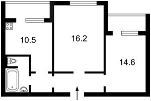 Квартира Курбаса Леся (50-летия Октября) просп., 1 корпус 1, Киев, R-17383 - Фото2