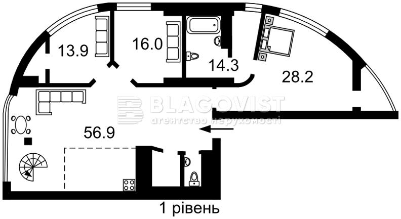 Квартира H-42273, Предславинская, 31/11, Киев - Фото 5