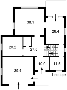 Дом Садовая, Иванковичи, F-40210 - Фото 3