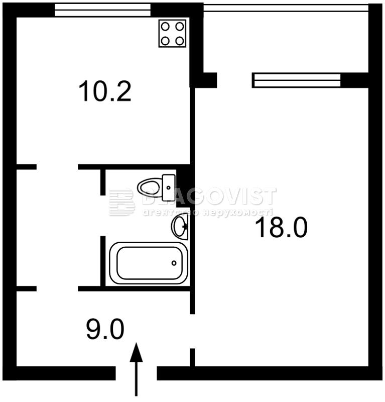 Квартира H-42136, Пулюя Ивана, 2, Киев - Фото 4