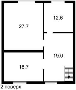 Дом Луговая, Козин (Конча-Заспа), P-23851 - Фото 3