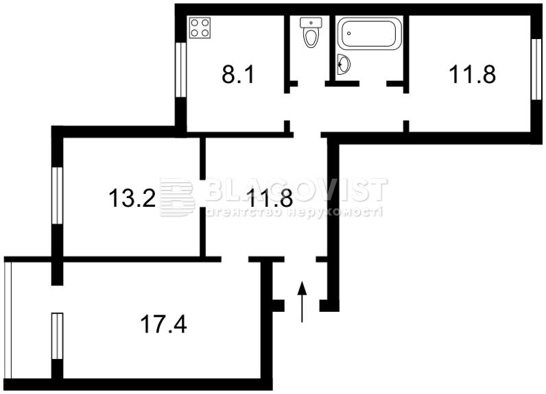 Квартира R-6603, Градинская, 6, Киев - Фото 3