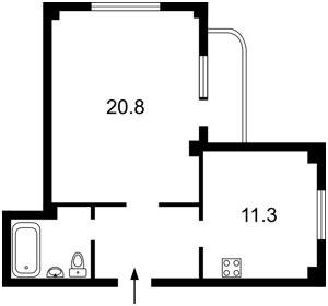 Квартира Макіївська, 8, Київ, Z-269624 - Фото2