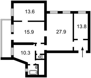 Квартира Прорезная (Центр), 11, Киев, H-42304 - Фото2
