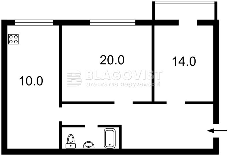 Квартира H-24253, Владимирская, 45, Киев - Фото 3