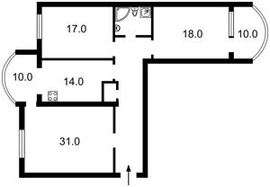 Квартира Оболонская набережная, 3, Киев, R-19048 - Фото2