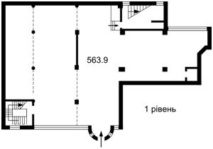 Нежитлове приміщення, Жилянська, Київ, Z-349899 - Фото2