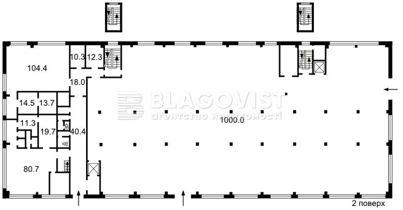 Торгово-офісне приміщення, Z-216514, Столичне шосе, Київ - Фото 3