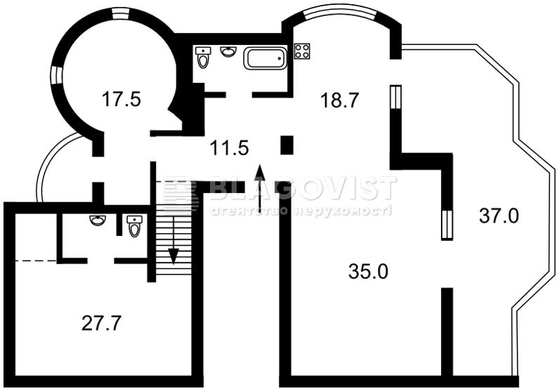 Квартира P-24025, Новообуховская, 5, Ходосовка - Фото 4