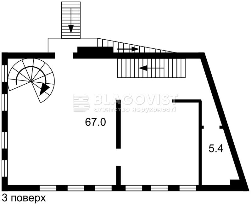 Отдельно стоящее здание, R-19324, Прорезная (Центр), Киев - Фото 4