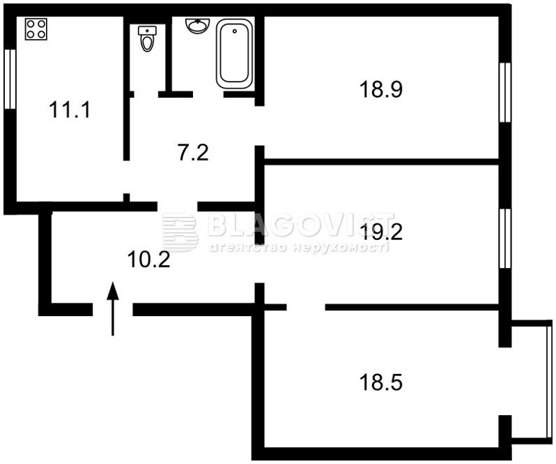 Квартира Z-358740, Марьяненко Ивана, 7, Киев - Фото 4