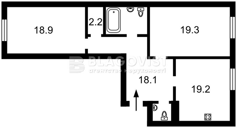 Квартира C-105239, Полтавская, 10, Киев - Фото 8