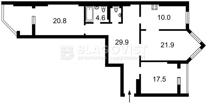 Квартира H-42472, Саперно-Слободская, 22, Киев - Фото 4