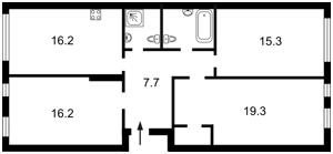 Квартира Регенераторна, 4 корпус 2, Київ, R-19183 - Фото2