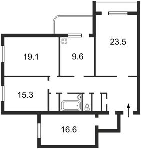 Квартира Старонаводницкая, 4, Киев, H-42489 - Фото 2