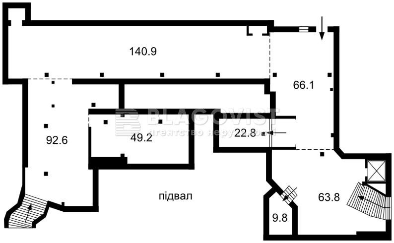 Нежилое помещение, H-42491, Малышко Андрея, Киев - Фото 3