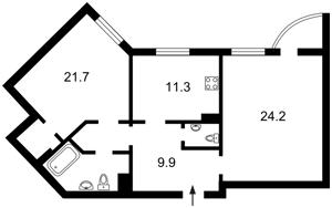 Apartment Viliamsa Akademika, 5, Kyiv, Z-367931 - Photo2
