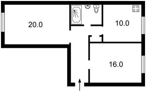 Квартира Джона Маккейна (Кудри Ивана), 36, Киев, Z-515 - Фото2