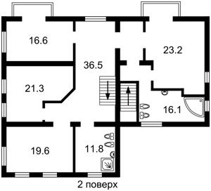Дом Школьная, Новоселки (Киево-Святошинский), H-42497 - Фото 3