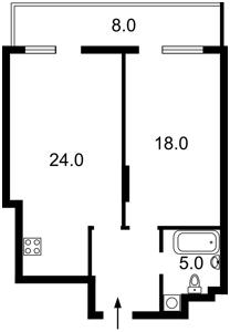 Квартира Леси Украинки бульв., 7в, Киев, Z-697217 - Фото2