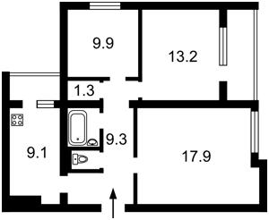 Apartment Antonovycha (Horkoho), 94-96, Kyiv, C-105376 - Photo2