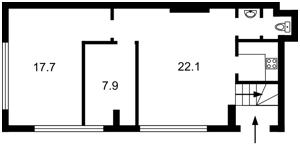 Квартира Васильковая, 2, Киев, M-33843 - Фото2