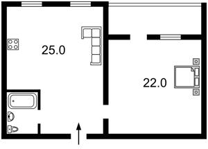 Apartment Sichovykh Strilciv (Artema), 31, Kyiv, F-24382 - Photo2