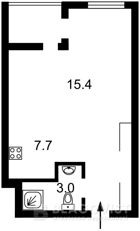 Квартира Z-279429, Соборности просп. (Воссоединения), 17 корпус 2, Киев - Фото 3