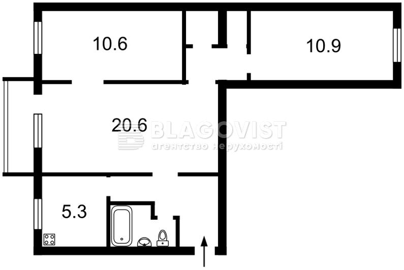 Квартира Z-398208, Леси Украинки бульв., 13, Киев - Фото 4