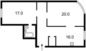 Квартира Героев Сталинграда просп., 2д, Киев, R-20198 - Фото2