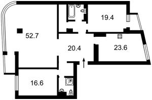 Квартира Московская, 46/2, Киев, R-18310 - Фото2