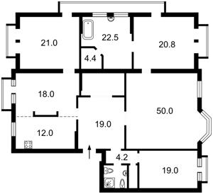 Квартира Ирининская, 5/24, Киев, F-39661 - Фото 2