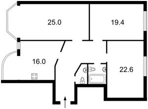 Квартира Осенняя, 33, Киев, Z-368535 - Фото2