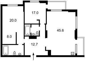 Квартира Голосіївський проспект (40-річчя Жовтня просп.), 58, Київ, Z-331820 - Фото2