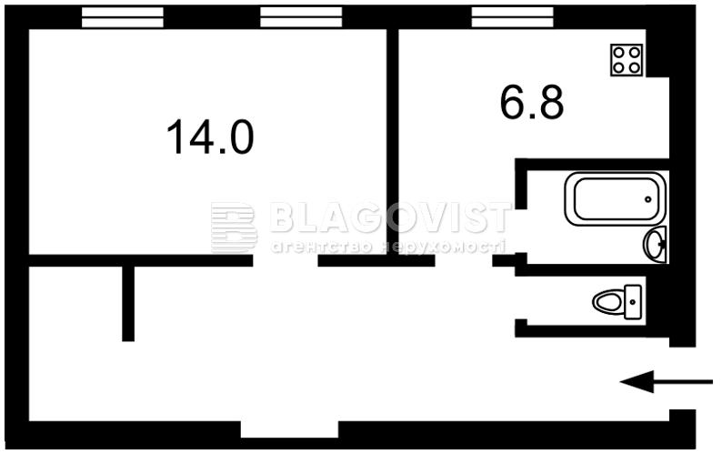 Квартира F-39889, Деловая (Димитрова), 16, Киев - Фото 2