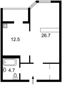 Квартира Коновальца Евгения (Щорса), 34а, Киев, Z-377634 - Фото2