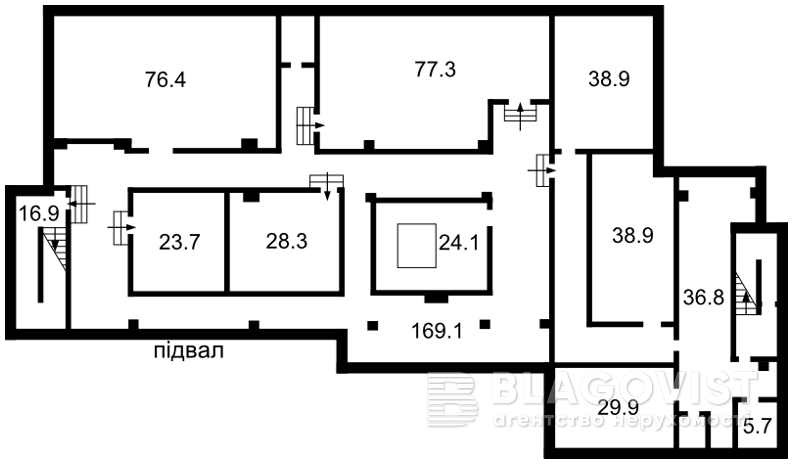 Нежилое помещение, Шумского Юрия, Киев, L-25443 - Фото 2