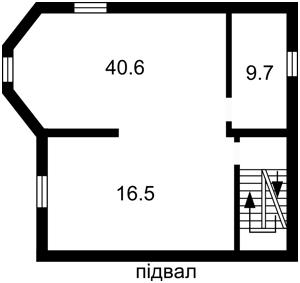 Дом Херсонская, Петропавловская Борщаговка, E-37788 - Фото 2